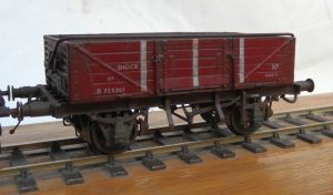 BR lot 3082 12T Shocopen built using a Parkside Dundas body, Rumney Models chassis B.53 and Rumney Models tarpaulin bar kit B.92. As featured in MRJ 246 & 247!
