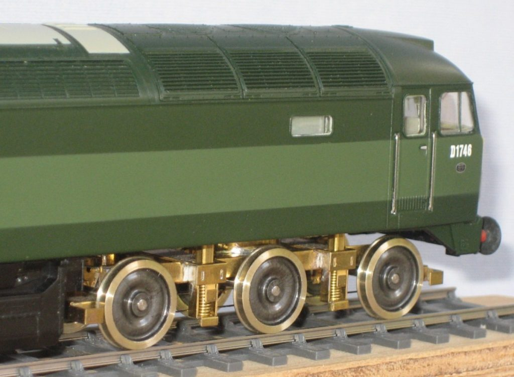 Bachmann class 47 and kit D.05.