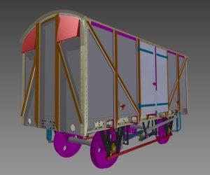 GWR 12T Plywood Van