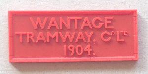 Wantage Tramway sign